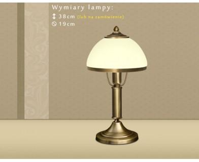 Mosiężna lampa stołowa DR-B1BE