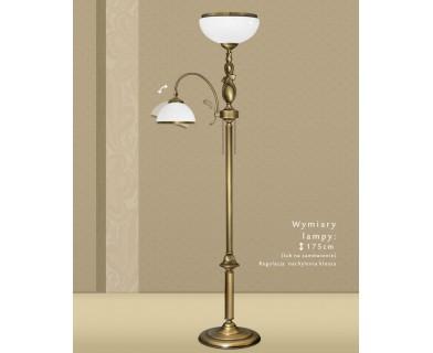 Lampa podłogowa z mosiądzu DR-P2