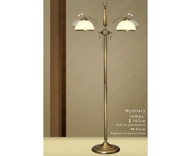 Lampa podłogowa mosiężna SR-P2NE
