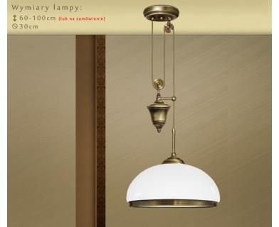 Lampa mosiężna SR-S1P