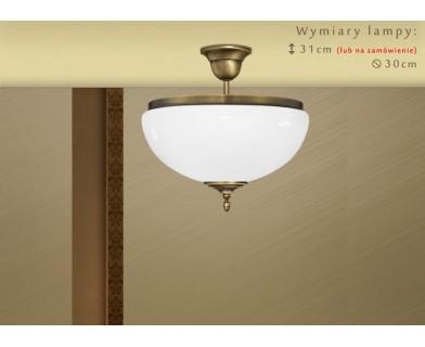 Lampa sufitowa z mosiądzu SR-S1AK