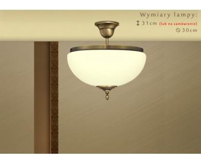 Lampa sufitowa mosiężna SR-S1AKE