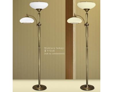 Lampa podłogowa mosiężna T-P2