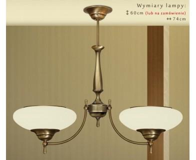 Klasyczna lampa dwuramienna T-S2A