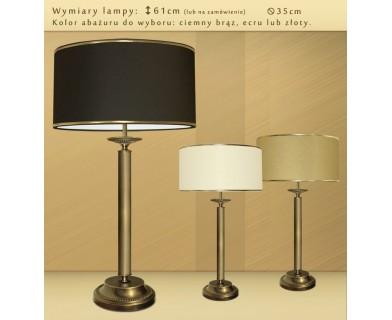Mosiężna lampa na komodę LG-L