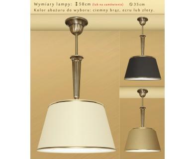 Lampa klasyczna z mosiądzu K-S1