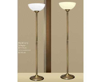 Lampa podłogowa z mosiądzu B-P1A