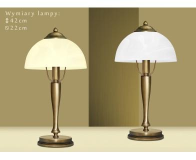 Lampa biurkowa z mosiądzu U-B1G