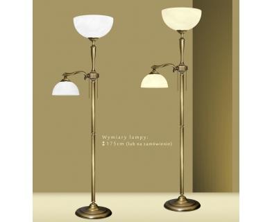 Mosiężna lampa podłogowa U-P2