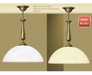Lampa klasyczna z mosiądzu U-S1D