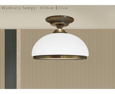 Lampa mosiężna HR-PL1GD