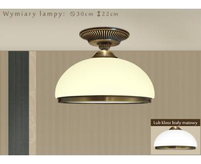 Niska lampa mosiężna HR-PL1GDE