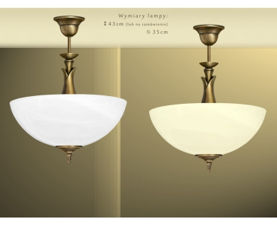 Lampa klasyczna z mosiądzu M-S1AB