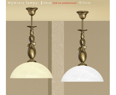 Klasyczna lampa sufitowa D-S1B