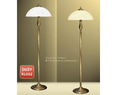 Lampa podłogowa z mosiądzu M-P1D