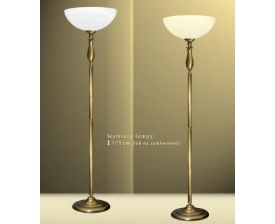 Lampa podłogowa z mosiądzu M-P1A