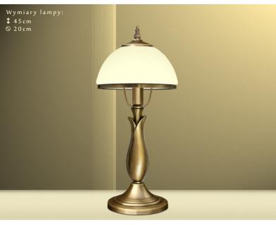 Mosiężna lampa biurkowa MR-B1E