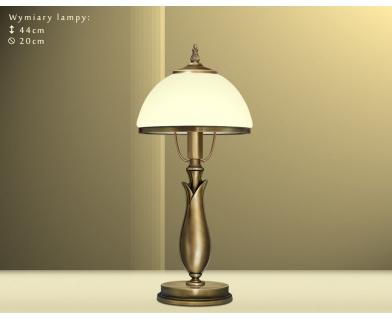 Mosiężna lampa stołowa MR-B1GE
