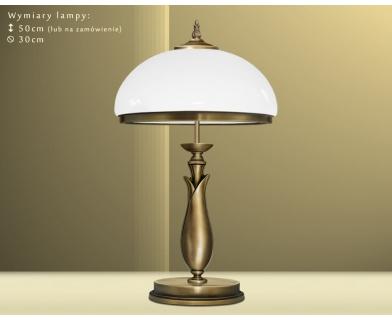 Lampa gabinetowa mosiężna MR-B2B