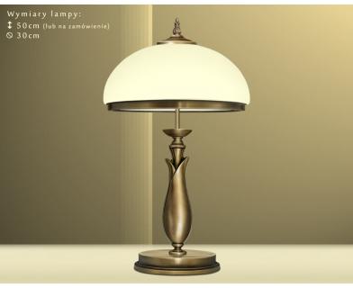 Lampa gabinetowa mosiężna MR-B2BE