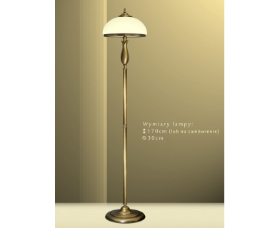 Mosiężna lampa podłogowa MR-P1E