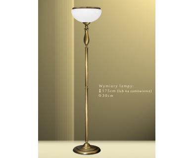 Mosiężna lampa podłogowa MR-P1A