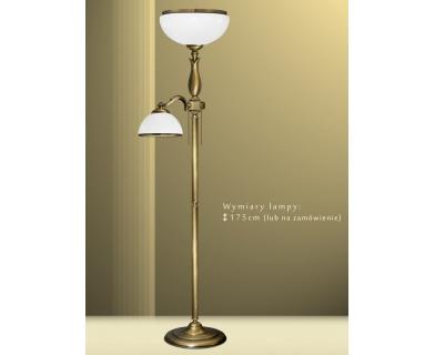 Lampa podłogowa z mosiądzu MR-P2