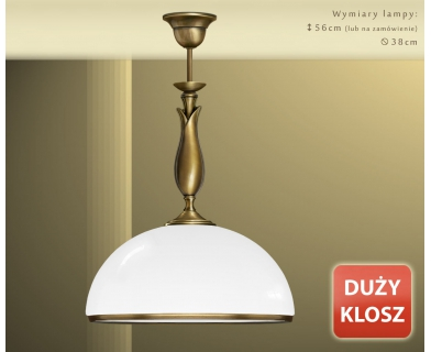 Klasyczna lampa sufitowa MR-S1D