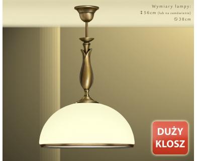 Lampa klasyczna mosiężna MR-S1DE