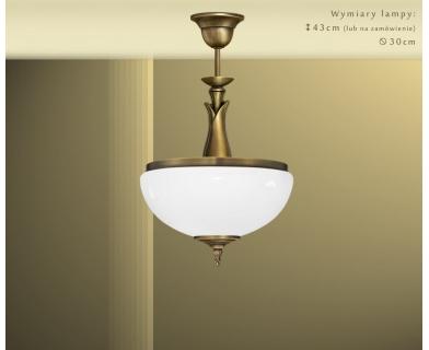Lampa sufitowa z mosiądzu MR-S1AB