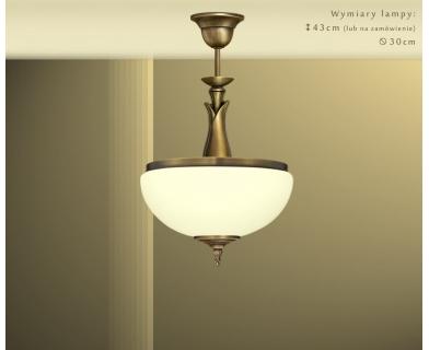Mosiężna lampa wisząca MR-S1ABE