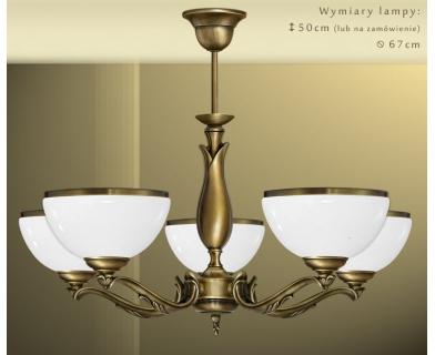 Klasyczna lampa 5-punktowa MR-S5