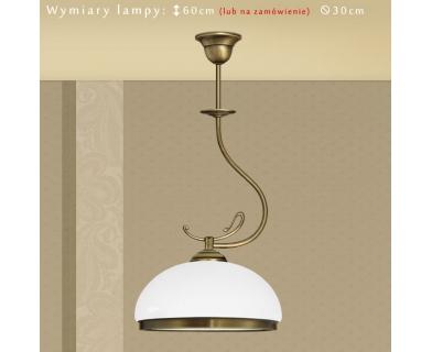 Klasyczna lampa sufitowa DR-S1