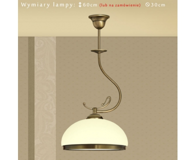Lampa klasyczna z mosiądzu DR-S1E