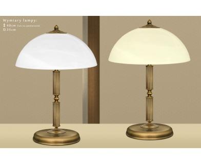 Lampa gabinetowa mosiężna B-B2