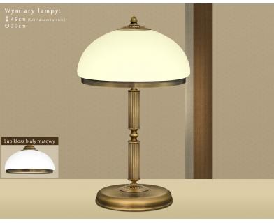 Lampa biurowa mosiężna R-B2E
