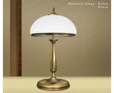 Mosiężna lampa na komodę SR-B2