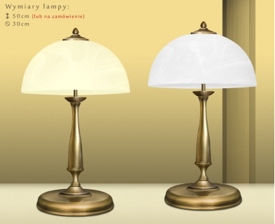 Klasyczna lampa gabinetowa P-B2
