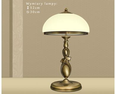 Lampa gabinetowa mosiężna DR-B2E