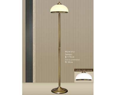 Lampa podłogowa z mosiądzu HR-P1E