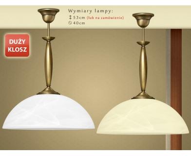 Lampa klasyczna z mosiądzu C-S1D