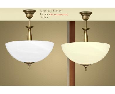 Lampa klasyczna z mosiądzu C-S1A