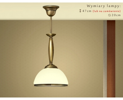 Lampa klasyczna mosiężna CR-S1ME