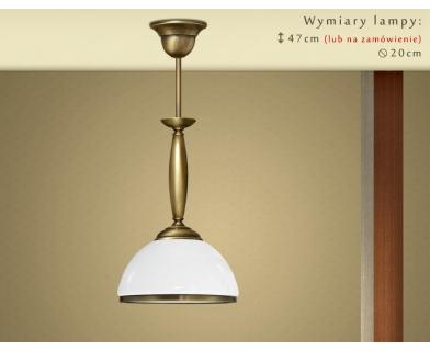 Lampa klasyczna z 1 kloszem CR-S1M