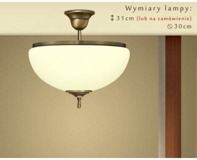 Lampa klasyczna mosiężna CR-S1AKE