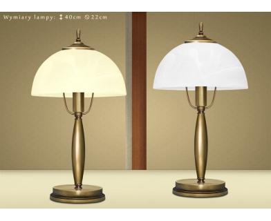 Mosiężna lampa stołowa C-B1G