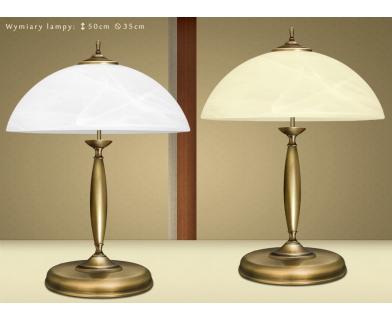 Lampa biurkowa mosiężna C-B2