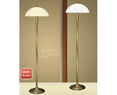 Mosiężna lampa podłogowa C-P1D