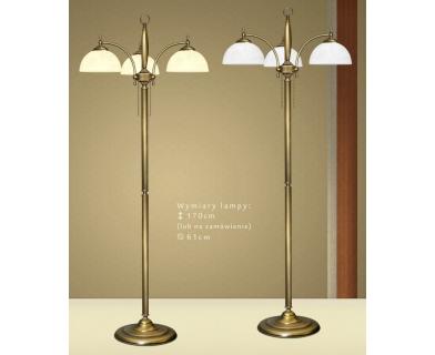 Lampa podłogowa z mosiądzu C-P3