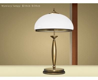 Mosiężna lampa gabinetowa CR-B2B